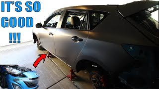 homepage tile video photo for COMPLETELY CHANGING THE LOOK OF THE MAZDASPEED 3!
