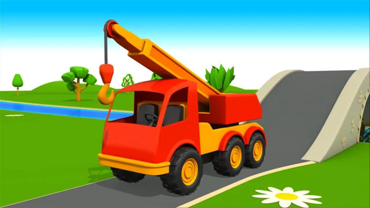 Camiones Grandes Para Niños En Español Big Trucks For Kids In