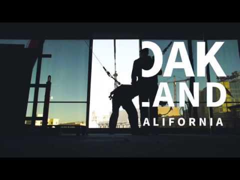 Downtown Oakland Crane Lift