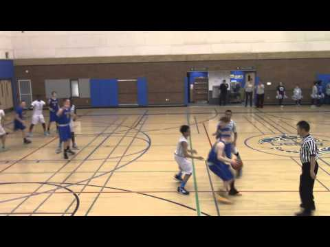 Denny Middle School(Isiah Hart#15) vs. Hamilton MS