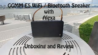 GGMM E5 Series DLNA Bluetooth & Wifi Speaker with Amazon Alexa built in