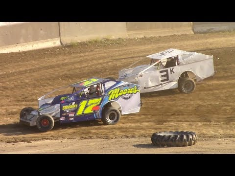 BRP Big Block Modified Heat One | Old Bradford Speedway | 6-11-17