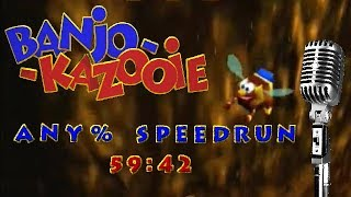 (commentated) [WR] Banjo-Kazooie Any Speedrun in 59:42 (Xbox)