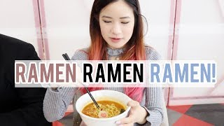 ALL YOU CAN EAT RAMEN in JAPAN?!?