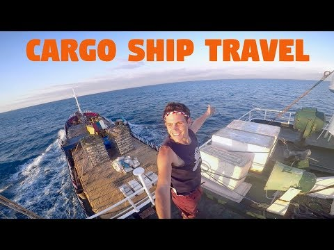 TRAVELLING BY CARGO SHIP IN THE PHILIPPINES!?