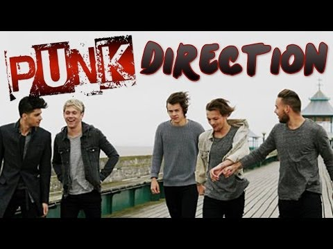 One Direction News - Is 1D PUNK? New Video!