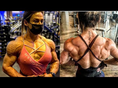 Priscila Reis IFBB Pro – Female Bodybuilding Motivation
