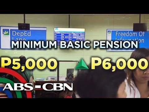 TV Patrol: GSIS may P1,000 dagdag sa pensiyon ng mga retirado, PWD