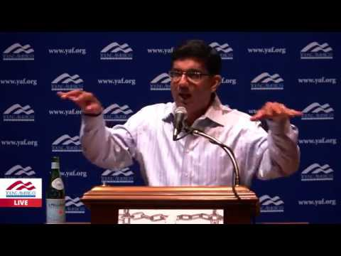 Dinesh D'Souza DESTROYS EVERYONE in Live Speech!!