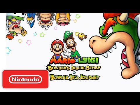 Mario & Luigi: Bowser's Inside Story + Bowser Jr.'s Journey - Launch Trailer - Nintendo 3DS