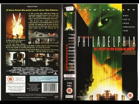 Original VHS Opening: The Philadelphia Experiment 2 (1993 UK Rental Tape)