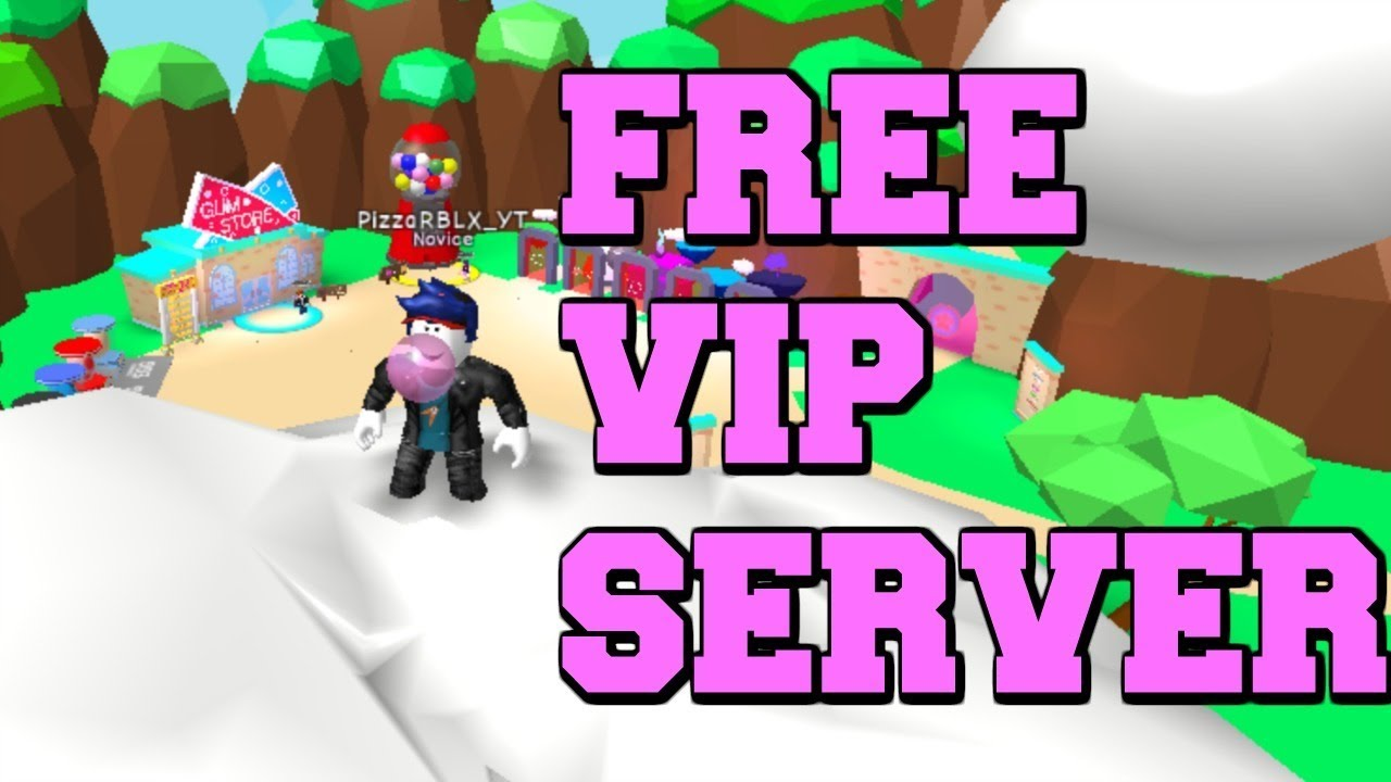 HOW TO GET A FREE VIP SERVER FOR BUBBLE GUM SIMULATOR
