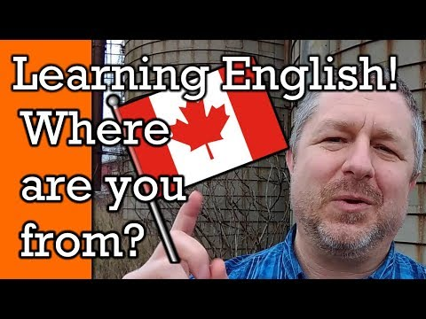 What Country Are You From?   Tell Me in the Comments Below   A Learn English Video with Subtitles