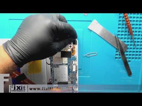 Come rimuovere lo spinotto delle cuffie rotto nel jack audio del Tablet Mediacom SmartPad M-SP1EY4G