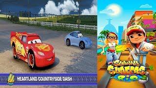 Disney Pixar Cars 3 Simulator Driven To Win VS Subway Surfers World Rio Brazil Gameplay #38