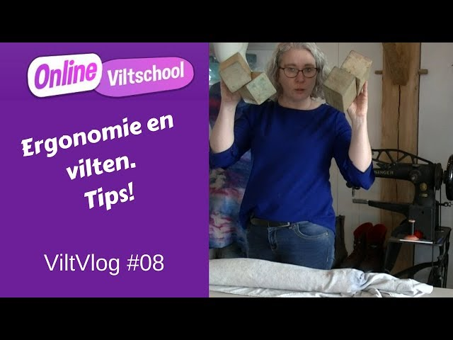 Viltvlog #08 De juiste werkhouding