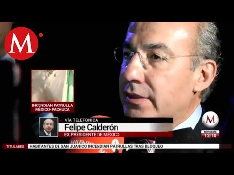 Entrevista a Felipe Calderón sobre su renuncia al PAN