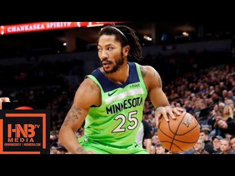 Minnesota Timberwolves vs Chicago Bulls Full Game Highlights | 11.24.2018, NBA Season