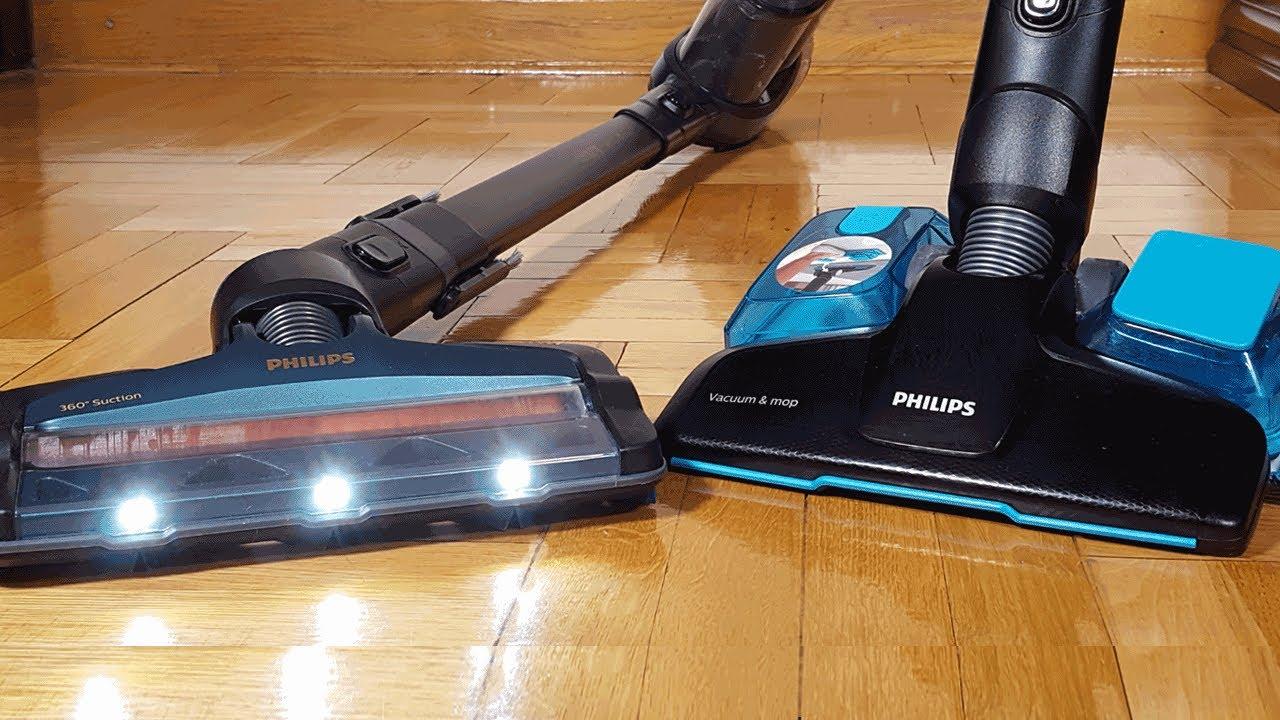 TEST odkurzacza Philips Aqua 8000 | Jednoczesne odkurzanie i mycie podłogi  | Porównanie z robotami!