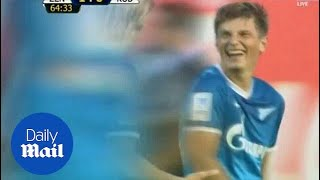 Andrei Arshavin on fire with Zenit after leaving Arsenal - Daily Mail