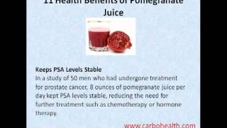 12 Benefits of Pomegranate Juice