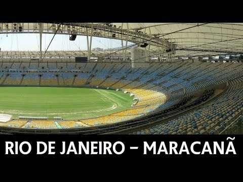 Rio de Janeiro - Estadio do Maracana - 2014 FIFA World Cup Stadium