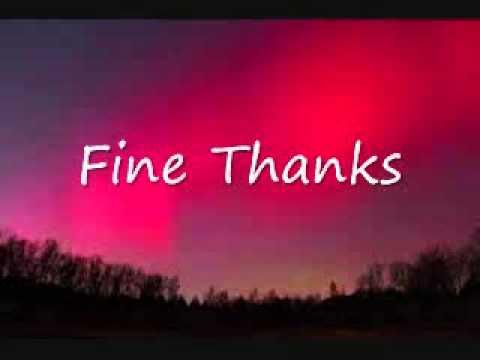 Como se dice Bien Gracias en Ingles - YouTube