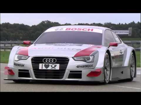 Audi A5 DTM - driving scenes
