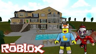 ROBLOX - RoPo HELPS ME BUY A MY FIRST MANSION IN BLOXBURG