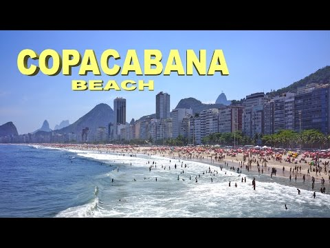 Copacabana beach ☀  HD