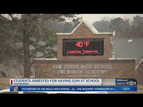 UPDATE: Three Arrests Involving Students With a Gun at Van Buren Freshman Academy (KNWA)