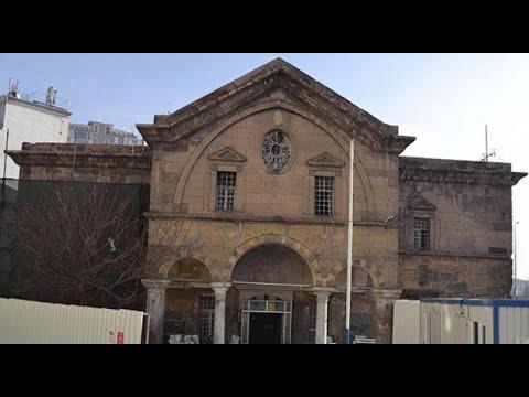 Kayseri'deki Meryem Ana Kilisesi'nde Restorasyona Başlandı   15.06.2018