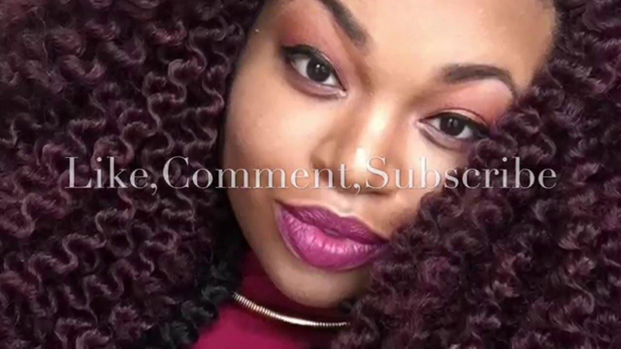 Crochet Braids Unraveled : Hair tutorial-Unraveling Crochet Senegal Twists - YouTube