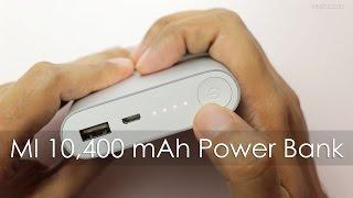 Xiaomi 10 400 mAh Power Bank Unboxing