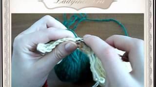 Вязание крючком - Полустолбики.