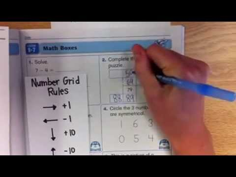 1st-2nd: Number Grid Puzzles