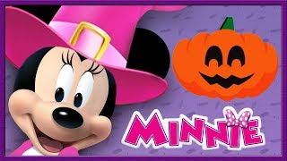 Minnie Mouse Halloween -  Mickey Mouse Clubhouse 3D Color - Learn Colors - Disney Junior Kids App