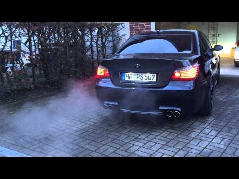 BMW M5 Stroker 5,8L Cold Start