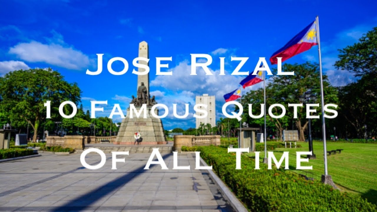 filipino views of rizal Views share on facebook tweet on  where you get an overview of rizal taking his last steps and on the other  food, well known filipino-chinese businessmen.