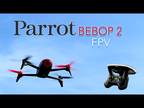 Дрон Parrot Bebop 2 FPV с уникален контролер 9