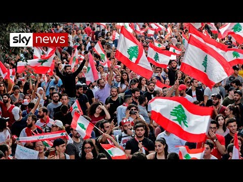One week of protests in Lebanon