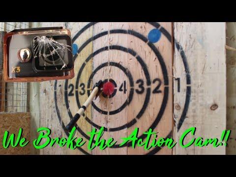 Kidderminster Axe Throwing (Broke the Action Camera)