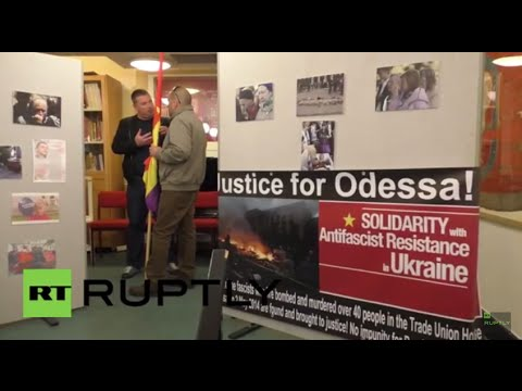 UK: Odessa massacre remembered in graphic photo exhibition in London