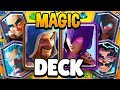 Literally No One:  Nickatnyte: Let's do ALL WIZARDS DECK in CLASH ROYALE