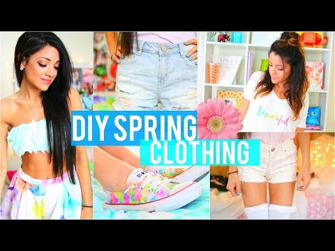 easy-diy-tumblr-inspired-spring-clothing-for-cheap!-(no-sew)