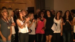 EM-Party: DFB-Frauen feiern