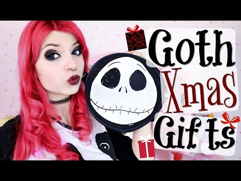 Christmas Gift Ideas For Alternative/ Goth People