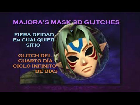 ¡MIRAR DESCRIPCIÓN! ¡EN ESPAÑOL! Majora's Mask 3D: Fiera Deidad y 4º Día Glitches/Bugs/Trucos