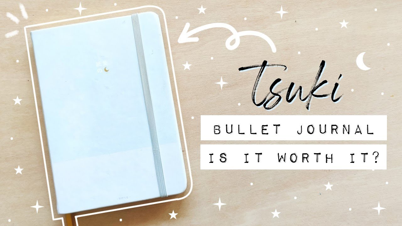 Tsuki Bullet Journal by Notebook Therapy - After 6 Months Review