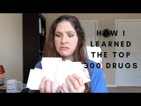 How I learned the top 300 drugs